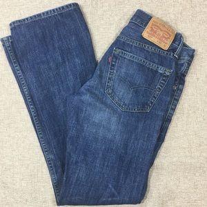 Levi's 527 Mens Jeans Slim Bootcut Size 30X32